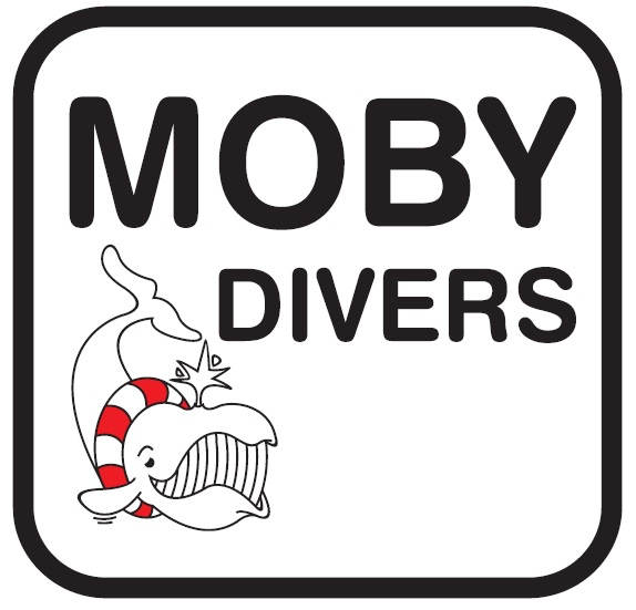 Website van de duikvereniging Moby Divers